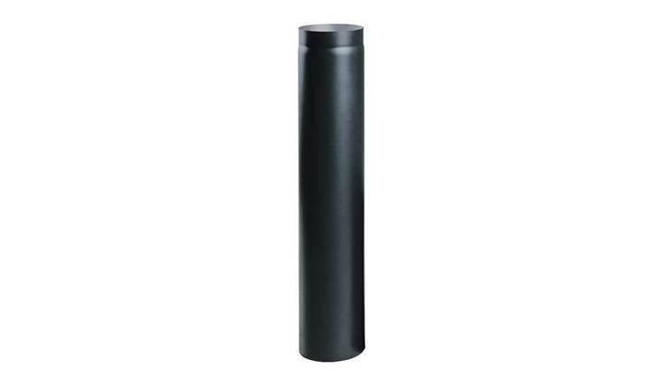 Жаропрочная дымоходная труба 1 м. диаметр 150мм.., фото 2