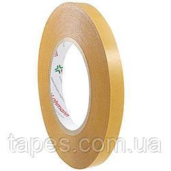 Двухсторонняя клейкая лента Lohmann Duplocoll 268, 12мм х 50м х 0,23 мм, лента на пленочной основе наносимая п