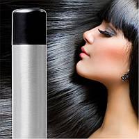 Спрей-краска для волос Черная временная баллончик аэрозоль 120 мл, фото 1
