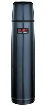 Термос 0,75 л, Thermos FBB-750BC, серый, фото 2
