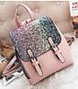 Женский рюкзак с блестками, фото 4