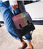 Женский рюкзак с блестками, фото 6