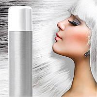 Спрей-краска для волос Белая временная баллончик аэрозоль 120 мл, фото 1