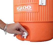 Изотермический контейнер 18,9 л, Igloo 5 Gallon Seat Top (342234231622), фото 2