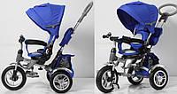 Детский трехколесный велосипед TR16006, синий