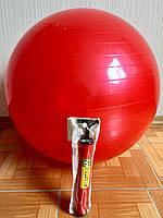 Фитбол 65 см Красный + насос Sport