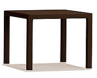 Стол из искуственного ротанга Keter Melody Quartet, коричневый