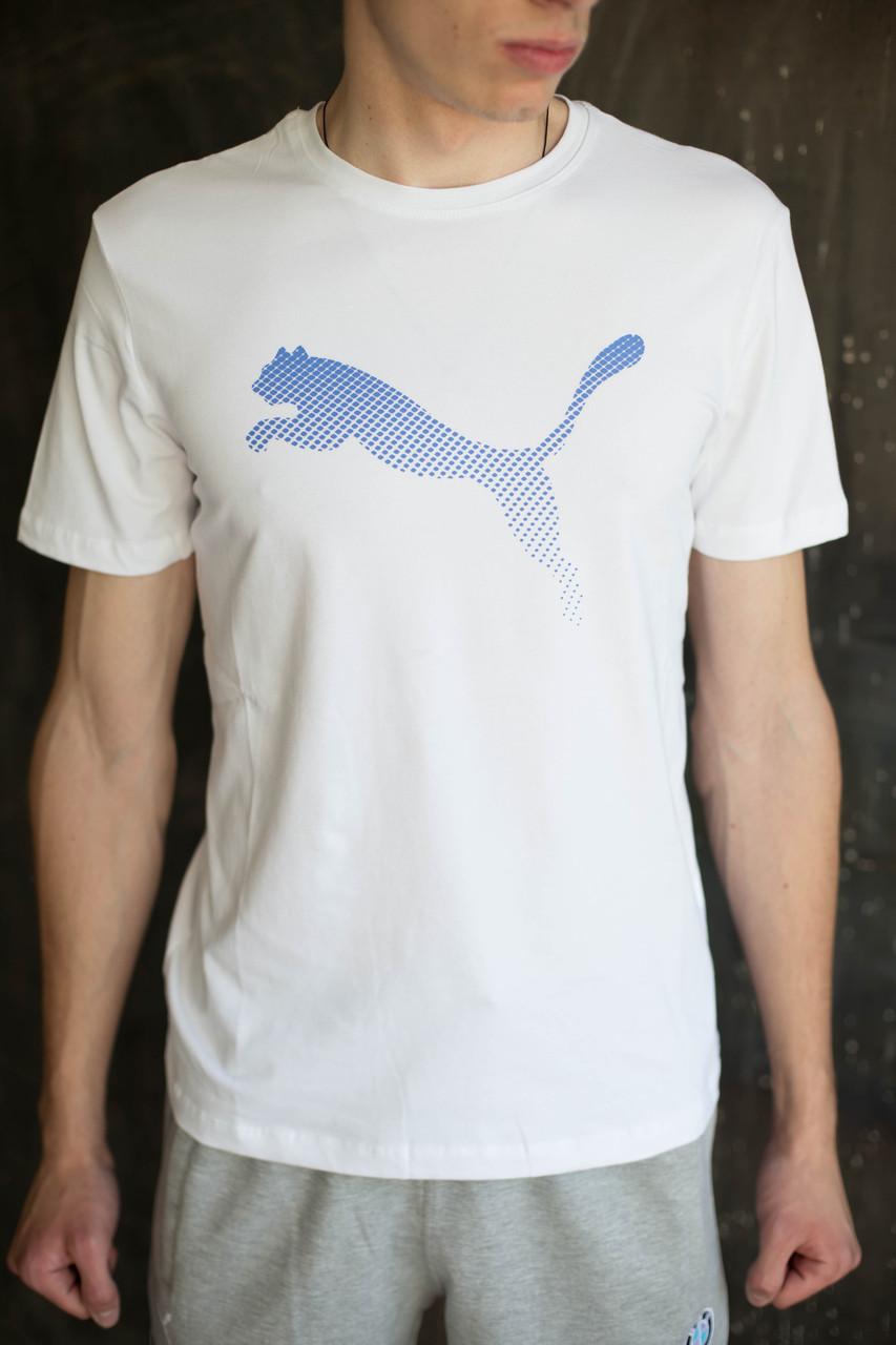 Мужская футболка Puma  белая