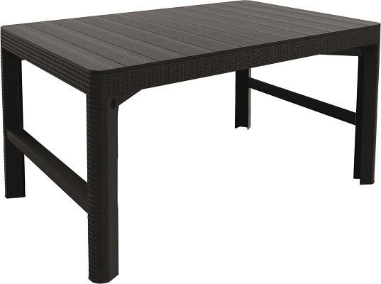 Стол Allibert Lyon rattan table