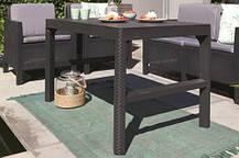 Стол Allibert Lyon rattan table, фото 3