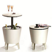 Стол-траснформер Keter Cool Bar, беж+коричн