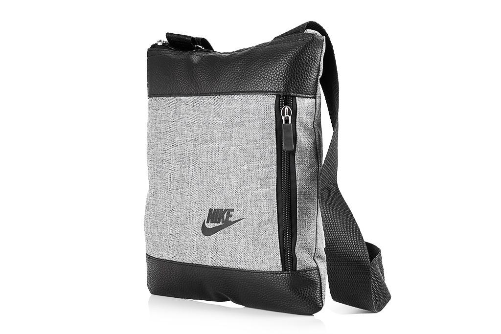 8777f95f2129 Мужская сумка Nike через плечо серая: продажа, цена в Харькове ...