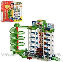 Детский гараж-паркинг 922 на 6 этажей hn KK