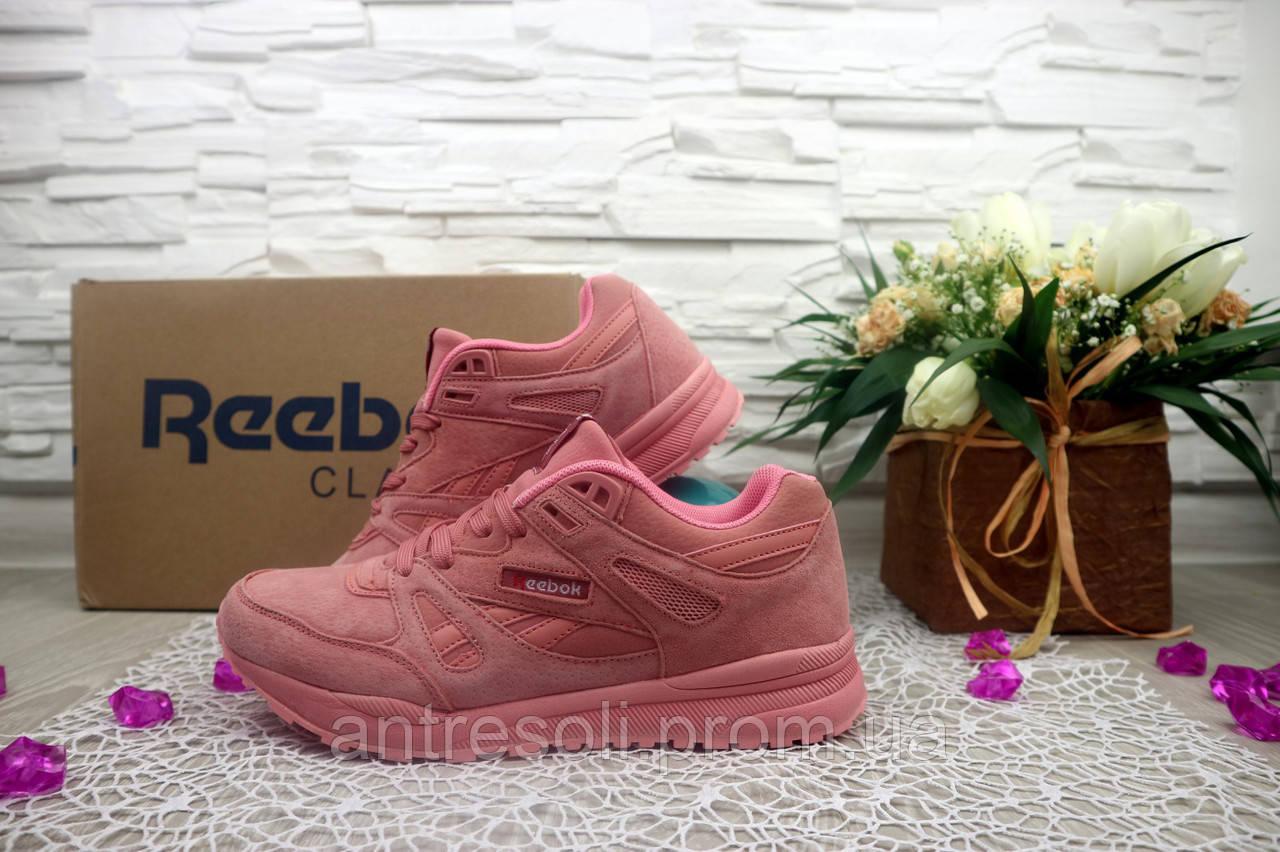 Женские кроссовки Reebok Classik цвет розовый 10951