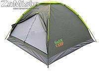 Палатка трехместная GreenCamp 1012, фото 1