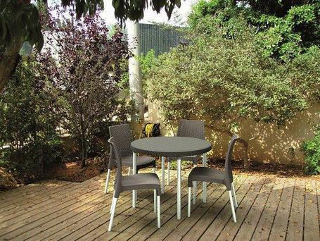 Комплект садовой мебели Keter Jersey set, коричневый, фото 2