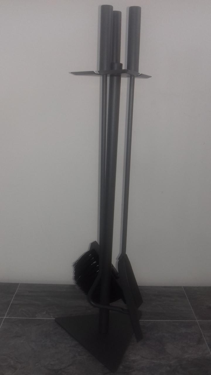 Каминный набор серый (3 предмета) 337201