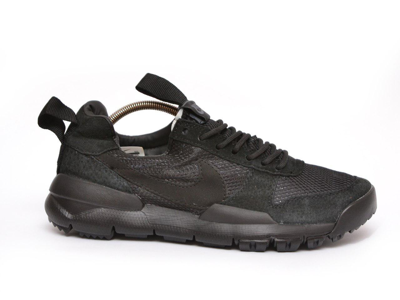 Мужские  кроссовки Nike Tom Sachs' Mars Yard (черные), ТОП-реплика