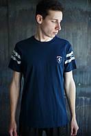 Мужская футболка Puma Ferrari Темно синяя