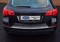 Opel Astra J SW (2010-) Накладка на задний бампер - Матированный