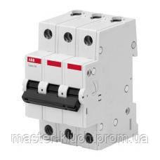 Автоматический выключатель АВВ Basic M трехполюсный - тип С 16 А