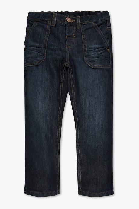 Детские джинсы с трикотажной подкладкой для мальчика C&A Германия Размер 110
