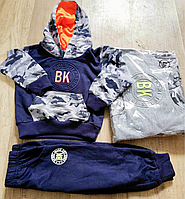 Трикотажный костюм 2 в 1 для мальчика оптом, S&D, 1-5 лет,  № CH-3869