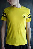 Мужская футболка Puma Ferrari желтая