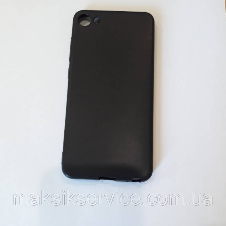 Накладка Silicone Cool Black MEIZU U10
