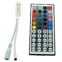 Контроллер для RGB ленты 6А с пультом 44кн. (инф/красн)