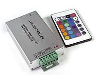 Контроллер (24А) для RGB ленты с пультом 24кн. (инф/красн), фото 1