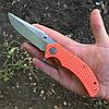 Нож складной With Armour WA-008OR Steel 440C