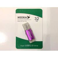 Флеш память USB 2.0 32Gb Neeka New