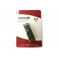 Флеш память USB 2.0 64Gb Neeka