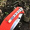 Нож складной With Armour WA-008OR Steel 440C , фото 5