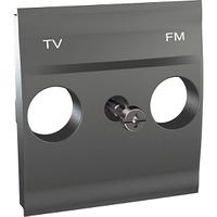 Панель для ТВ-R розетки Графит Unica Schneider, MGU9.440.12