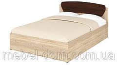 Кровать полуторная Милана-140+1 без изножья ДСП