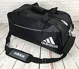 Спортивная сумка Adidas с отделом для обуви. Стильная сумка адидас. Качественная сумка. Стильные сумки., фото 2