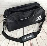 Спортивная сумка Adidas с отделом для обуви. Стильная сумка адидас. Качественная сумка. Стильные сумки., фото 5