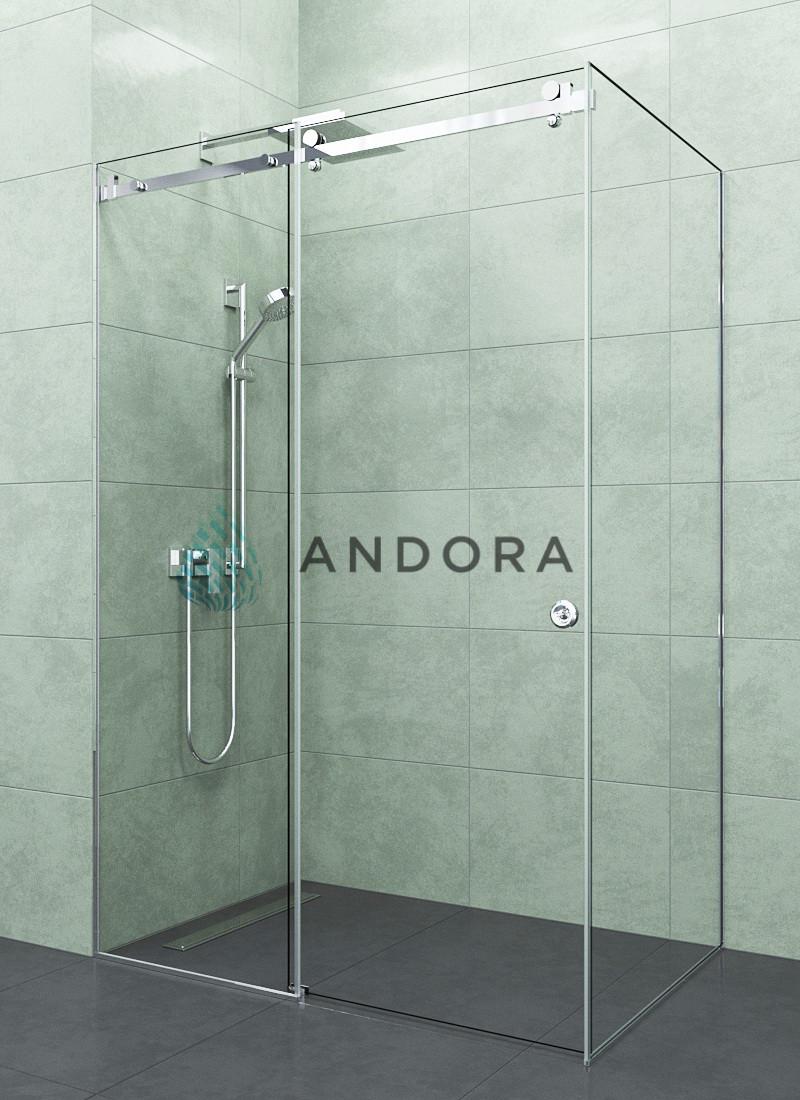 Душевая кабина Andora Dream 1300x1000x200 стекло clear L/R