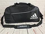 Спортивная сумка Adidas с отделом для обуви. Стильная сумка адидас. Качественная сумка. Стильные сумки., фото 6