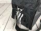 Спортивная сумка Adidas с отделом для обуви. Стильная сумка адидас. Качественная сумка. Стильные сумки., фото 9