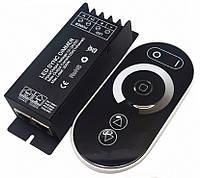 Диммер для светодиодного освещения (12В/24В)25А, пульт сенсорный (радио 433MHz), фото 1