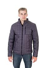 Куртка мужская весна осень Андре серый (48-58)