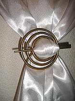 "Заколка ""Пектораль Золото"" для штор ( кисея, нити), фото 3"