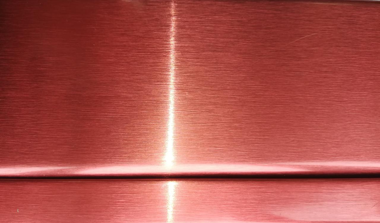 Реечный потолок красный металлик, комплект