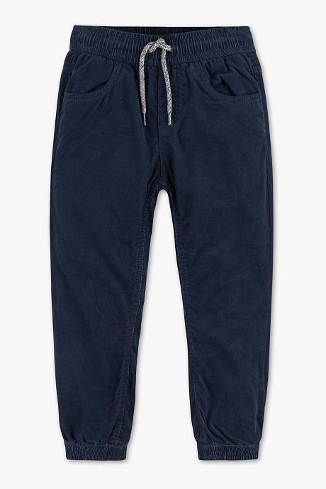 Детские вельветовые штаны на трикотажной подкладке для мальчика C&A Германия Размер 98