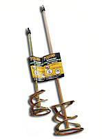 Строительный миксер-насадка для штукатурных смесей 100x600 мм HermesTools 20-107