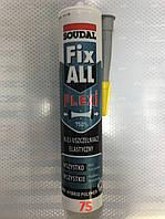Клей-герметик Soudal Fix ALL Flexi, Соудал Фикс Олл Флекси, серый, 290 мл
