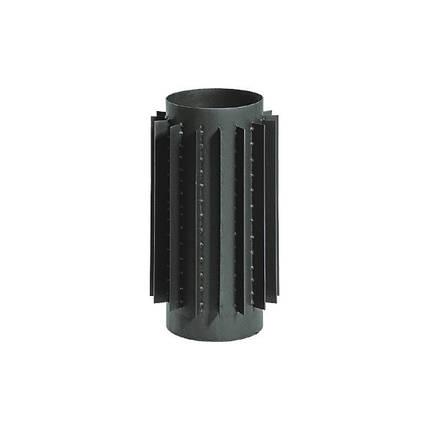 Радиатор-ребристая труба 50 см. диаметр 150 мм., фото 2